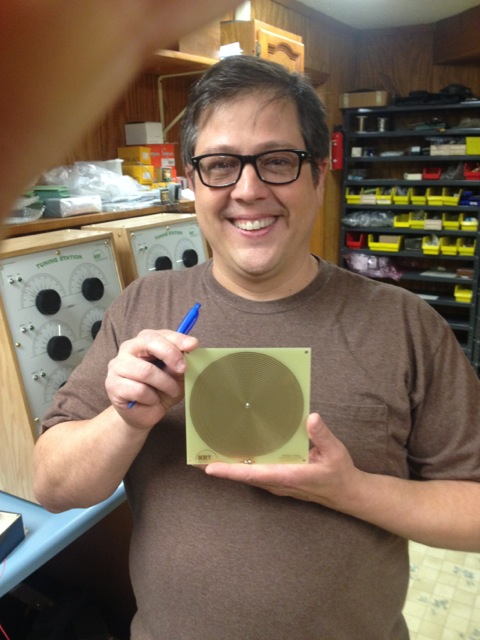 Ed Kelly with a new radionic antenna design