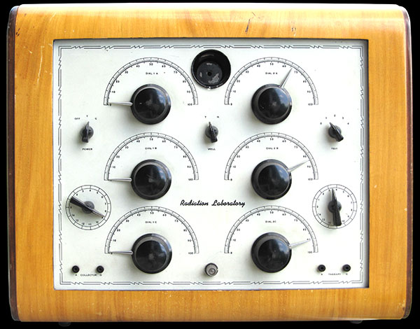 Three Bank Hieronymus Radionics device