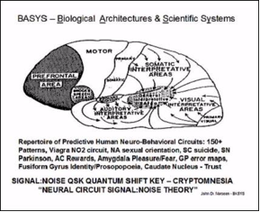 FIGURE 30: BASYS, BIOLOGICAL ARCHITECTURES and SCIENTIFIC SYSTEMS