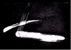FIGURE 38: THOUGHT PHOTOGRAPHS OF PEN KNIFE TAKEN WITH MARK 1 CAMERA
